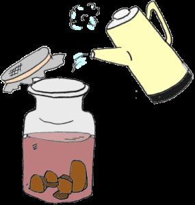 Настой из гриба чаги для лечения псориаза головы