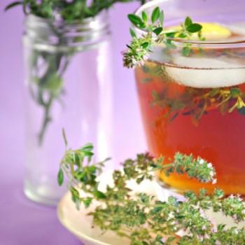 Чай чабрецом от головной боли