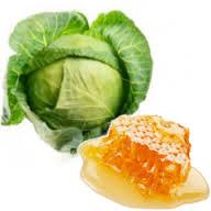 Компресс из меда и капусты