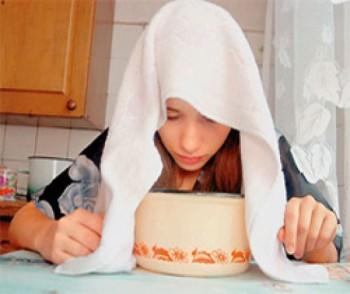 Лечение кашля с помощью вареного картофеля