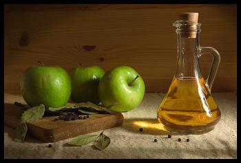 Лечение розового лишая с помощью яблочного уксуса