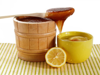 Лимон, мед и глицерин