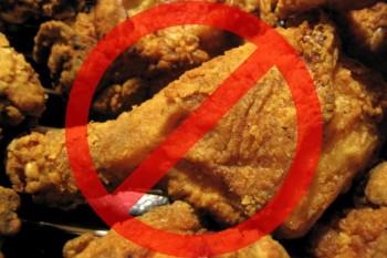 Ограничьтесь в приеме жирной пищи
