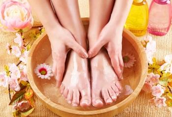 Ванны для ног с горчицей