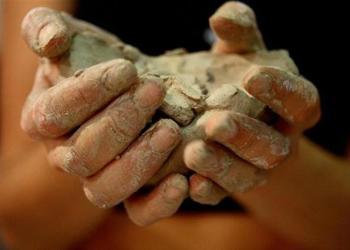 Аппликации из глины