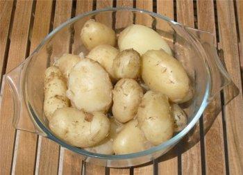 Компрессы из картофеля