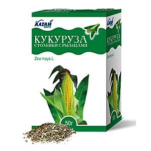 Кукурузные столбики с рыльцами