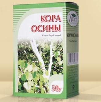 Лечение опистархоза с помощью осиновой коры