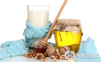 Молоко и мед - лучшее средство от бессонницы