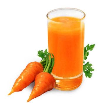 Морковный сок - народное средство от головокружения