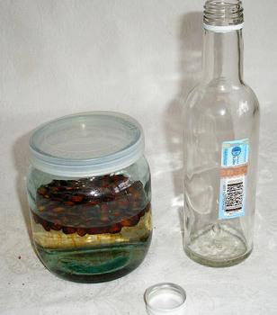 Настойка кедровые орехи на водке