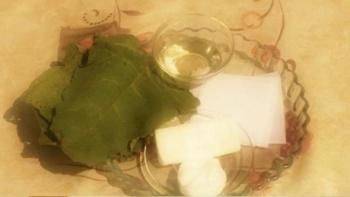 Обертывания листьями лопуха