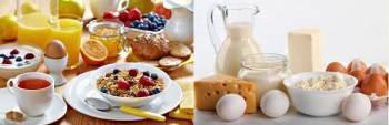 Растительная и молочная пища