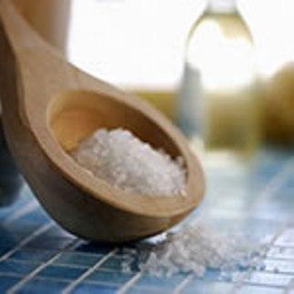 Растительное масло и морская соль