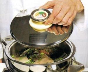 Рыбные и мясные блюда, приготовленные на пару