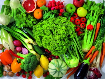 Свежие фрукты и овощи должны быть всегда на вашем столе