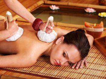 Целебный массаж при хондрозе