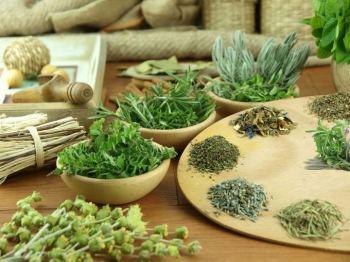 Травяной сбор с семенами льна и травами