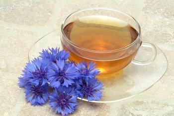 Васильковый чай снимет воспаление