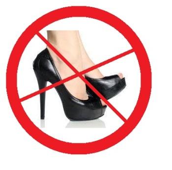 Профилактика должна быть направлена в первую очередь на то, чтобы уменьшить физическую нагрузку на стопы