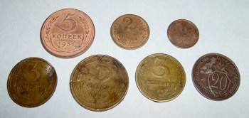 аппликации из медных монет