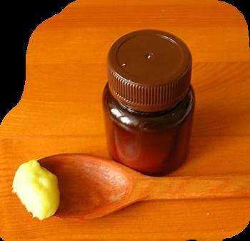 Прополис и сливочное масло