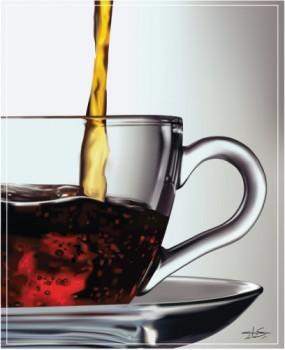 Капли на основе черного чая