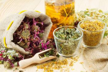 Травяные настои от склеромы