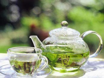 Лечебный зеленый чай