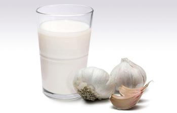 Чесночный настой на молоке