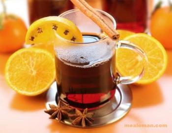 Лимонно-винный отвар