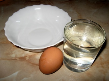 Мазь на курином яйце