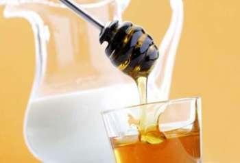 Молочно-медовое средство