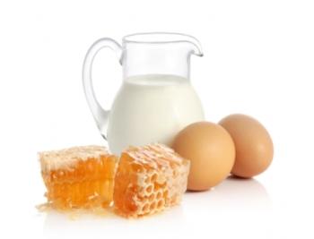 Молочно-яичная смесь
