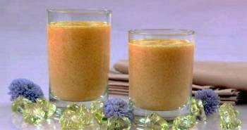 Отвар моркови в молоке