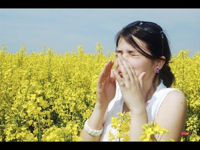 аллергия на цветение на лице