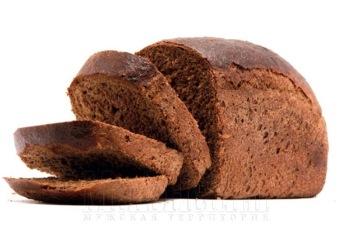 Черный хлеб с дегтем