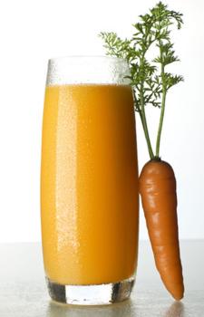 Морковно-кефирная маска