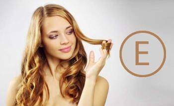 Наносите витамин Е на кончики волос