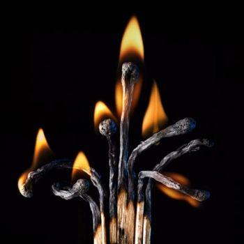Мазь из сожженных спичек