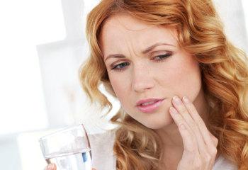 Полоскание при зубной боли