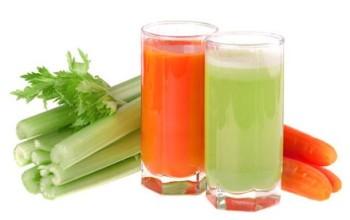 Сок сельдерея и морковь повышает аппетит и купирует воспаление