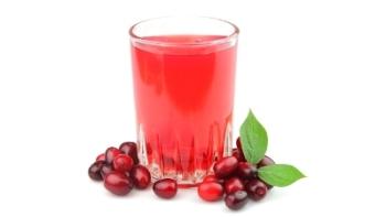 Свежий клюквенный сок является хорошим антипаразитарным средством