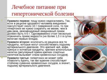 Правила употребления кофе и соли при гипертонии