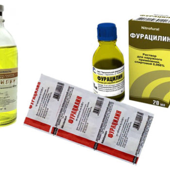 Раствор фурацилина быстро избавит от вирусного и гнойного конъюнктивита